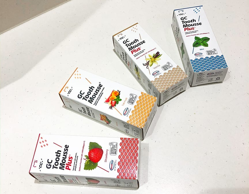 Tooth mousse products photo